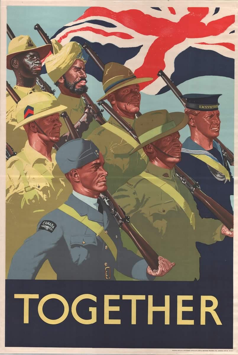We Can    We Will    We Must! Allied Propaganda Posters of WWII